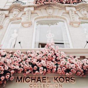 低至5折 粉色少女心!Michael Kors官网 精选粉色系包包、服饰等热卖