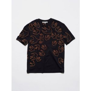 McQ by Alexander McQueenSignature Swallow Dropped Shoulder Tee