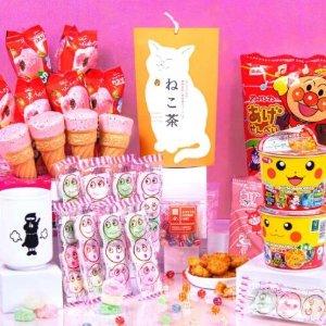 7.5折起 樱花蛋糕$2.5上新:Bokksu 日本零食 味蕾大满足 卡哇伊大礼盒$89