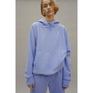 UO Exclusive Classic C Patch Hooded Sweatshirt