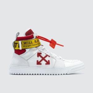 独家无门槛8折 £376收封面红箭头运动鞋OFF-WHITE 潮牌专场特卖 £185收箭头T恤