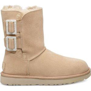 UGG任意2件$99Bailey 方扣雪地靴