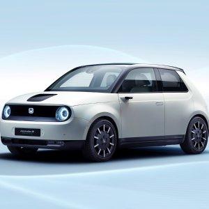 后驱电动小本田2020 Honda E Prototype 小型纯电动原型车