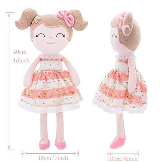 18厘米高娃娃玩偶+10厘米高迷你娃娃