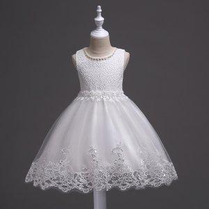 小公主白纱裙