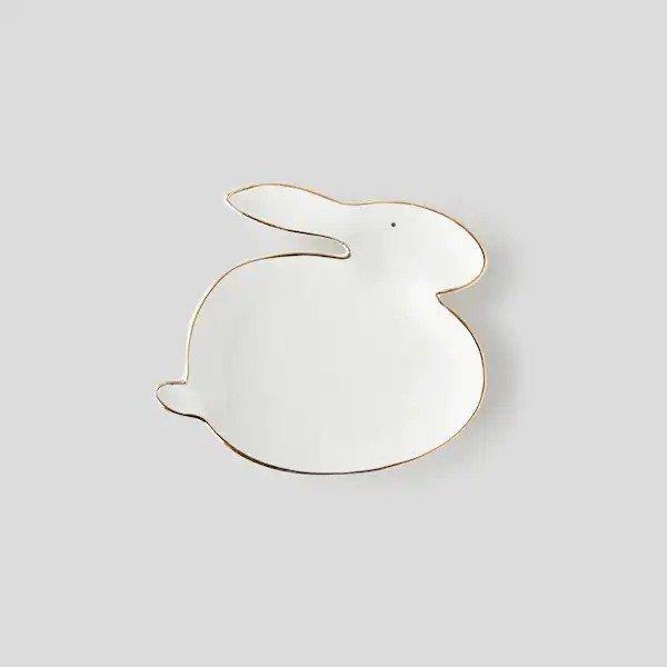 兔子造型盘子