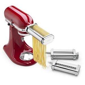 KitchenAid不锈钢面条制作配件 3件套