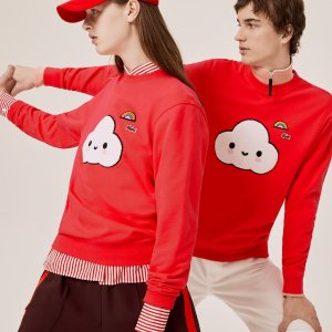 LacosteUnisex Lacoste x FriendsWithYou Print Sweatshirt