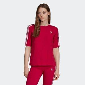 Adidas小logoT恤