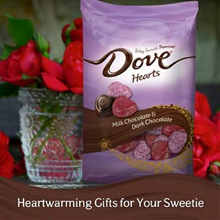 $6.98DOVE PROMISES Valentine Milk and Dark Chocolate Candy Hearts Variety Mix
