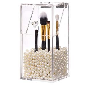 $25.97(原价$49.15)高颜值 PuTwo 亚克力化妆刷珍珠收纳盒