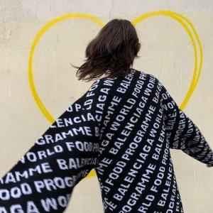 3折起 €237就收T恤Balenciaga 折扣区清仓价 收经典Logo穿搭、贝壳包等全系列