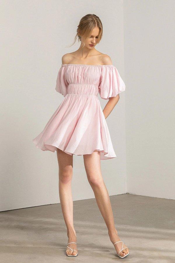 Petal Pink 公主连衣裙