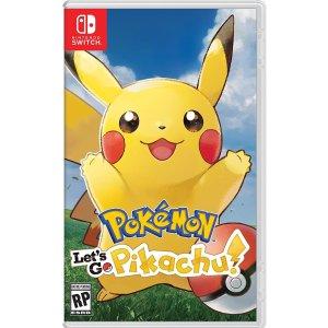 精灵球Plus将皮卡丘随身携带去吧皮卡丘/伊布!口袋妖怪Nintendo Switch新作发布