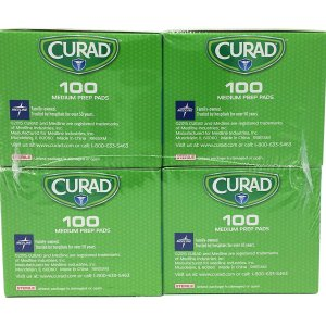 $7.98Curad Alcohol Prep Pads , Thick Alcohol Swabs (Pack of 400)