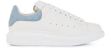 雾霾蓝小白鞋
