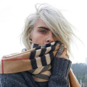 满额75折 羊绒围巾冬季必入Burberry 美衣配饰全线折扣热卖