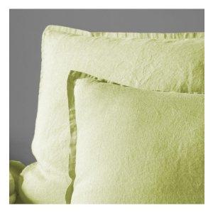 淡绿色枕头