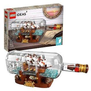 $55.99LEGO Ideas Ship in a Bottle 21313 Expert Building Kit