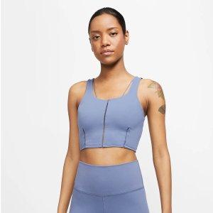 Nike瑜伽短款背心