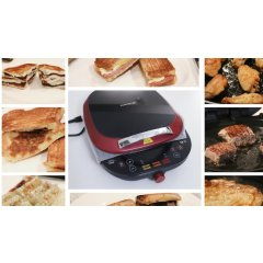 """颜值和性能并重的""""九阳电饼铛煎烤机""""和8款美食测评"""
