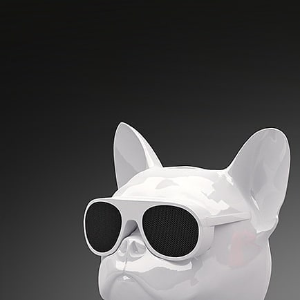 $199 来自于法国的斗牛犬Jarre Aerobull 狗头蓝牙音响