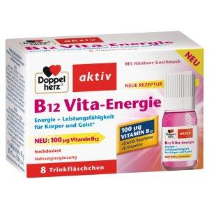 DoppelherzB12 Vita-Energie能量维生素, 8 瓶 每瓶10 ml