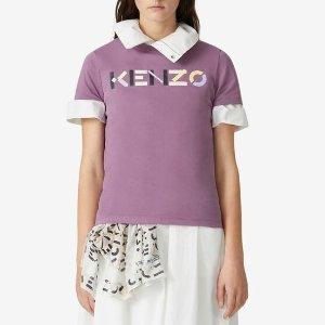 Kenzo100%纯棉logoT恤