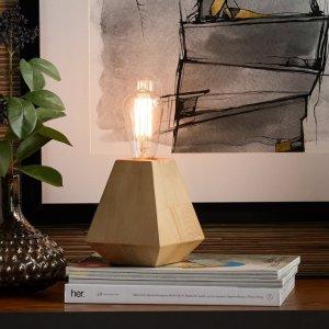 MoDRNNaturals Wooden Uplamp
