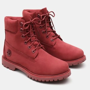 Timberland小红靴
