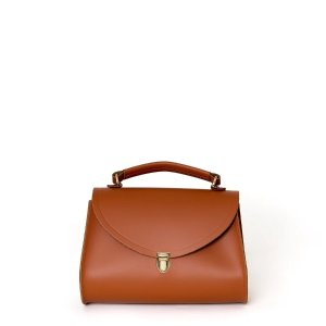 The Cambridge Satchel CompanyPoppy Bag in Leather - Conker