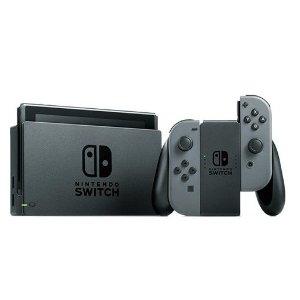 $299.99黑五预告:Nintendo Switch 灰色手柄 + 马里奥赛车8 套装
