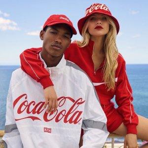 105件联名开始发售手慢无:Kith x Coca-Cola 第四季合作款抢先看