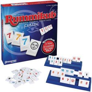 $19.95(原价$24)Pressman Rummikub 棋盘纸牌游戏 玩家人数2-24位