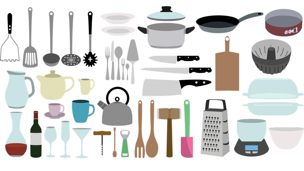厨房用具英文科普 | 北美常用厨具、餐具中英文对照及用途大全