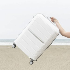 $109Samsonite Freeform 系列24寸行李箱 白色