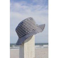 格子渔夫帽
