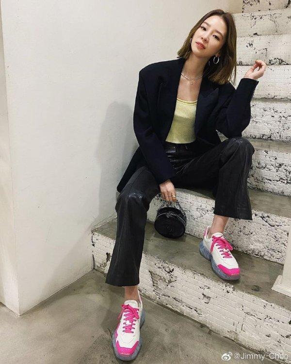 x YK Jeong 钻石气垫老爹鞋