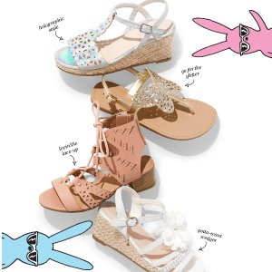 From $2.47 + Free ShippingShoes Sale @ Children's Place