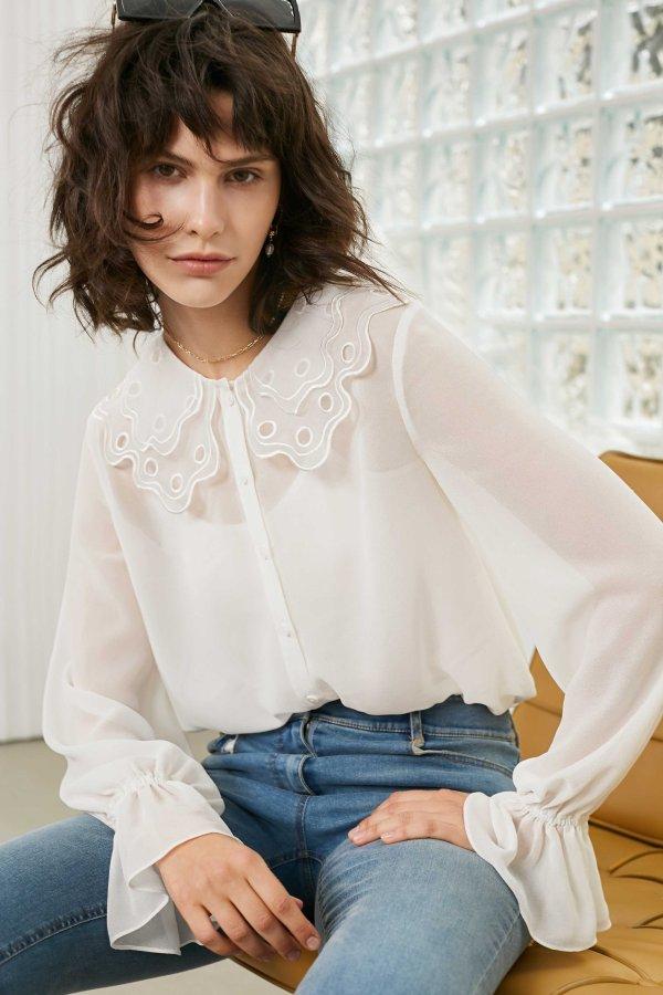 White Sheer 衬衣