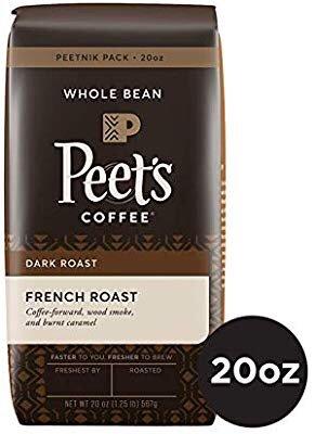 $12.53 醇香又提神Peet's Coffee 法式深度烘焙 整豆咖啡 20 oz.