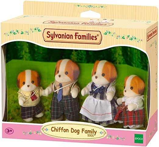 5000 Chiffon Dog Family,Figure