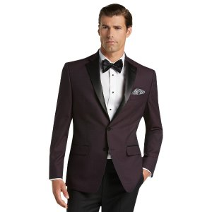 Jos. A. Bank Tailored Fit Houndstooth Formal Dinner Jacket CLEARANCE