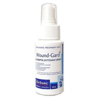Wound Gard Antiseptic and Bitterant Spray for Cats
