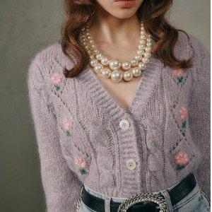低至5折+额外7.5折 £372收封面开衫Alessandra Rich 四月大促 甜美泡泡袖、波点裙明星也爱