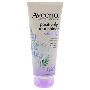 $5.69Amazon Aveeno Positively Nourishing Lavender And Chamomile Calming Body Lotion
