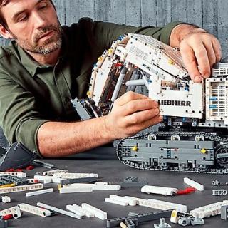 $549.99 旗舰款 手机蓝牙遥控上新:LEGO官网 机械组  Liebherr R 9800 挖掘机42100