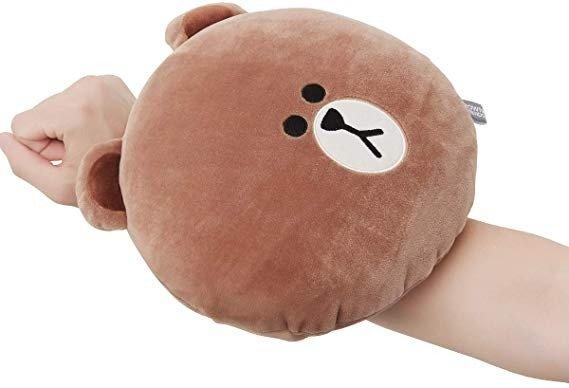 小熊午睡小枕头