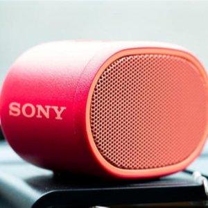 现价£19.90(原价£30)Sony SRS-XB01 便携蓝牙音箱近期好价 索尼家最小号宝宝