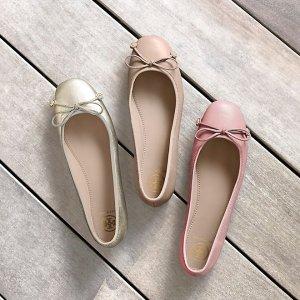 低至3折+包邮 封面款$79最后一天:Tory Burch官网 经典芭蕾平底鞋私密特卖 GIGI系列也参加